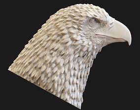 Eagle head 3D printable model