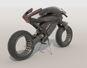 Motorcycle fiction 3D