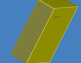 Notes 3D model