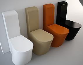 3D model Nic Design Pillow Toilet