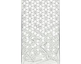 3D model Brushed Metal Panel
