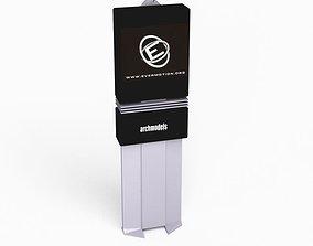 Modern Commercial Sign 3D