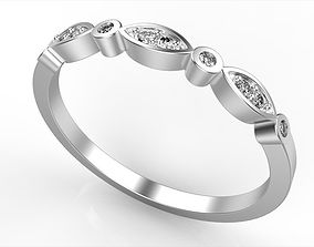 3D print model Eternity Engagement Ring All Size