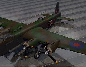 Short Stirling Mk-3 - RNZAF 3D model