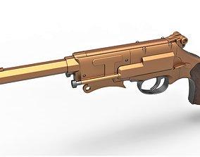 3D Malcolm Reynolds pistol from Firefly