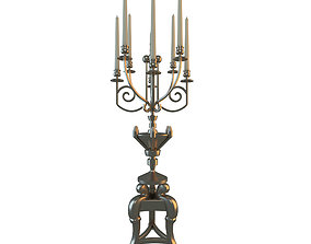 3D model Vintage Candlestick