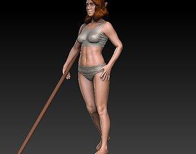 3D print model Jia beautiful Girl
