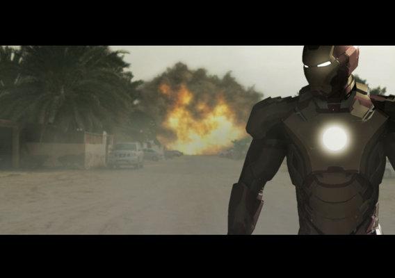 Iron Man Pride walk mark 42