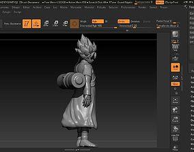 guruto fusion goku y naruto 3D printable model