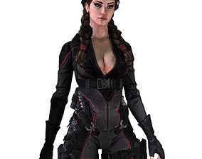 3D model realtime Character gameready 10 - max obj tga