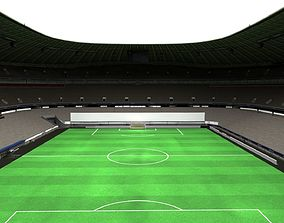 Allianz arena stadium 3D asset