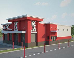 KFC Restaurant 03 3D