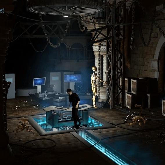 Secret Laboratory