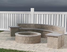 3D model Stone Fire Pit