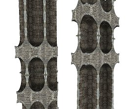 Gatehouse 01 Pillar 11 3D asset