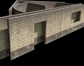 3D model brick wall kit