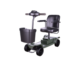 3D Mobility Scooter - Variant B