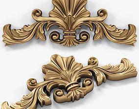 3D basrelief cartouches 01