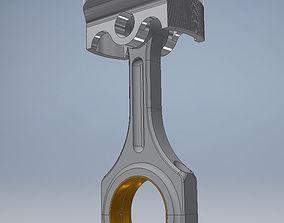 race 3D printable model Car Engine Piston