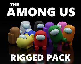 Among Us Pack 3D asset
