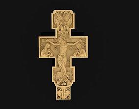 statue 3D printable model Cross