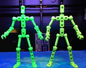 3D printable model ModiBot DIY figure kit