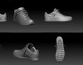 reebok shoe model 3D