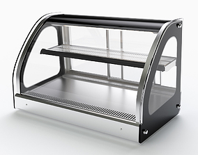 3D model Refrigerated Curve Drop-In Display Case