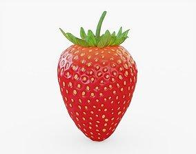 Strawberry 3D model realtime PBR