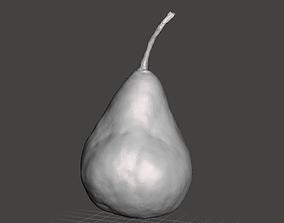 Scanned Pear 3D