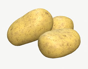 3 Potatoes Material Includes 3D