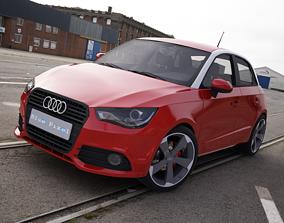 3D Audi A1 Sportback