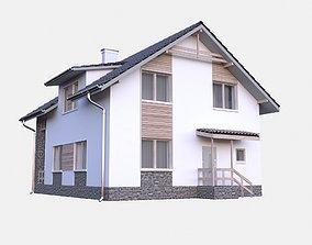 contemporary Modern House model Contemporary
