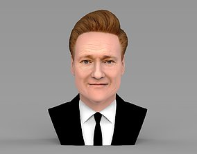 Conan OBrien bust ready for full color 3D printing