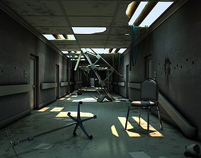 Damaged Hallway MAX 3D