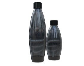 3D model game-ready Low poly plastic bottles