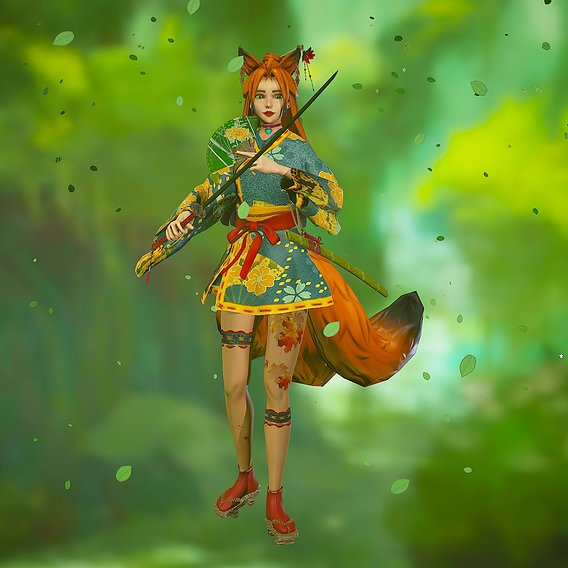 Forest Kitsune
