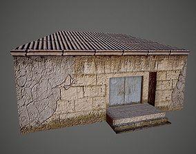 3D model Old Village Post House
