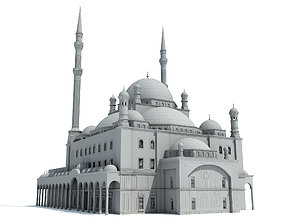 Mosque of Muhammad Ali 3D