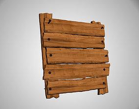 3D Wooden menu