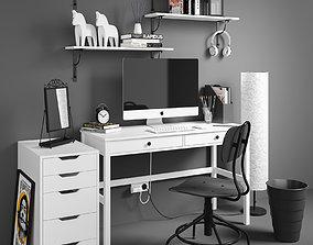 Workplace set 3 3D model