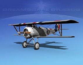 Nieuport 17 V02 France 3D model