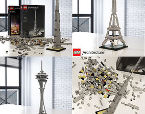 3D model Lego Architecture Collection