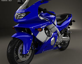 Yamaha YZF600R Thundercat 1994 3D