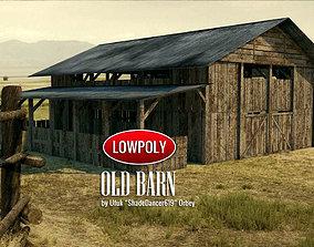 Old Barn 3D asset