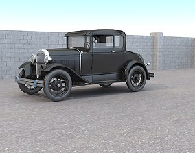 Ford A Coupe 3D model