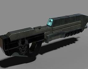 3D Halo Assault Rifle