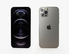iPhone 12 pro graphite 3D
