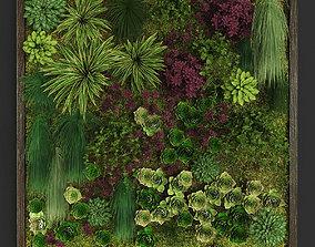 Vertical gardening 04 3D asset