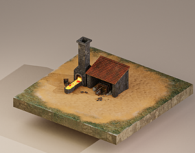 3D Iron Mine Level 10